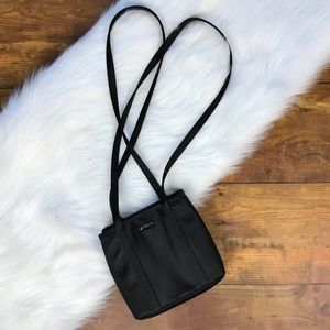 Nine West Tote Shoulder Black Bag Purse